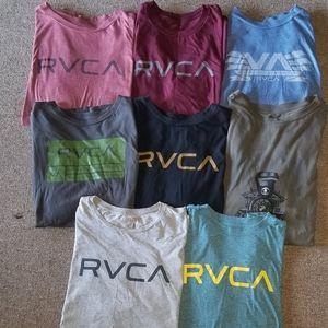 RVCA Tee (LOT of 7), Adult XL
